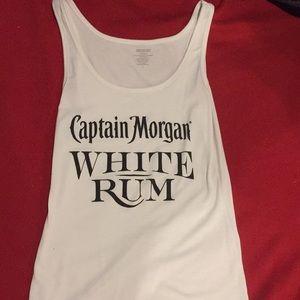 Captain Morgan White Rum Tank